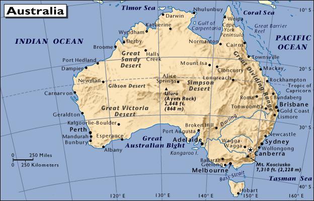 Le Tour du Monde de Guillaume - Australie